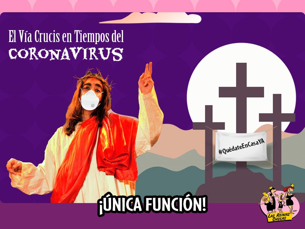 El Vía Crucis en Tiempos del Coronavirus